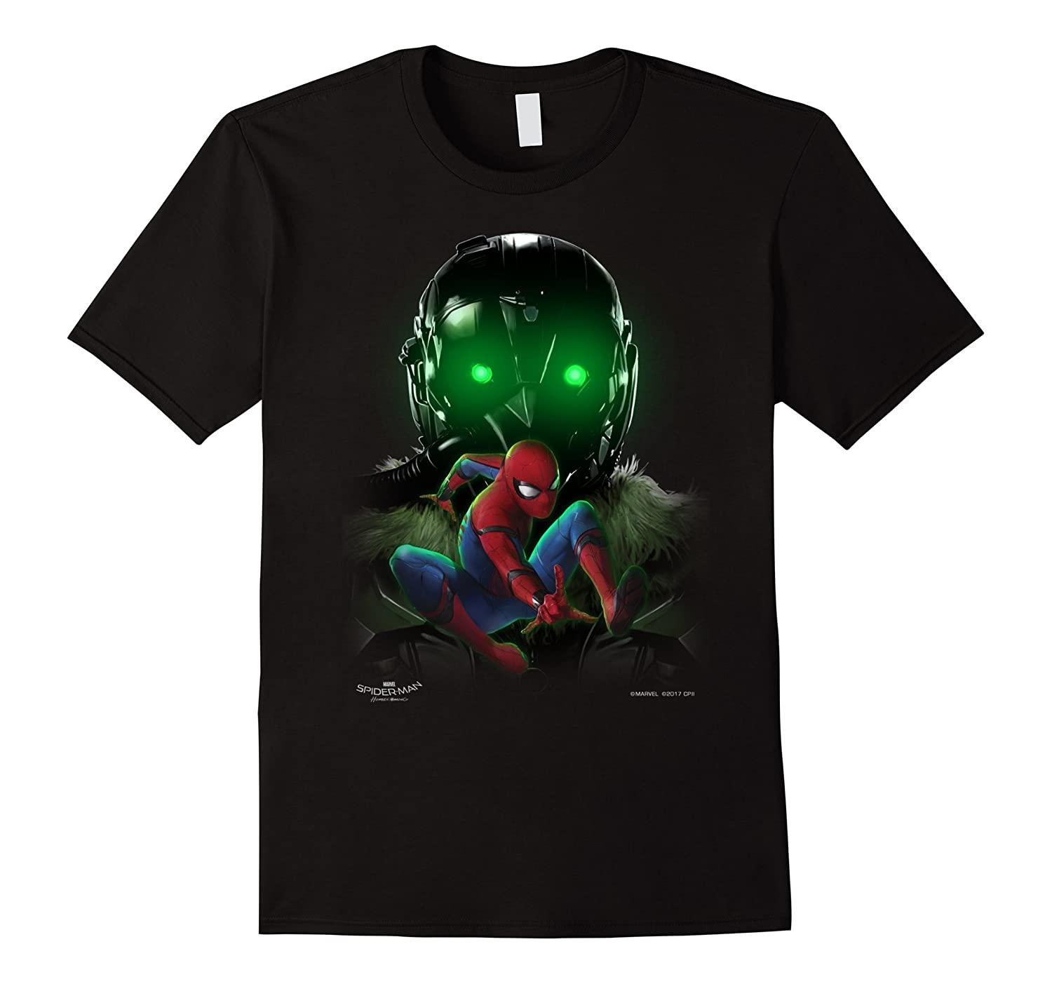 Marvel Spider-Man Homecoming Beware Vulture Graphic T-Shirt-BN