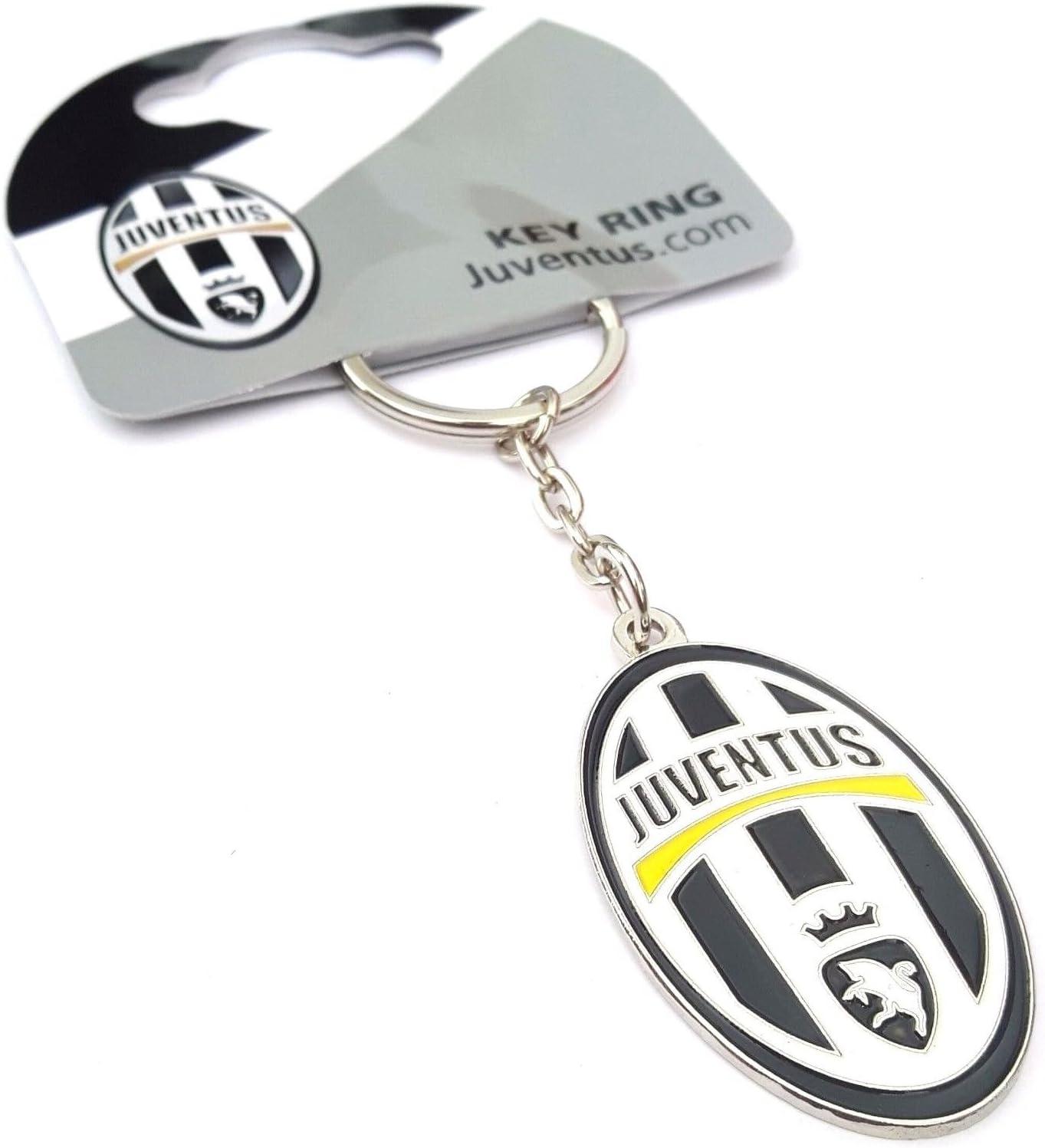Ufficiale JUVENTUS FC Calcio Portachiavi con stemma