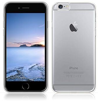Yunbaozi Funda iPhone 6S Carcasa iPhone 6 Transparente TPU *[Ultra Suave]* Caso Flexible Delgado Funda Suave de Protectora Anti-rasguños Anti Choque ...