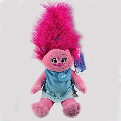Amazon.com: Build a Bear – Muñeca Poppy Troll – Trolls de la ...