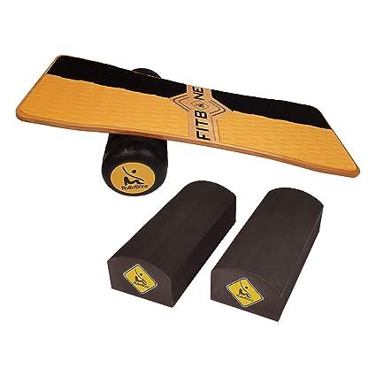 Softpad RollerBone 1.0 Pro Set Balance Board /& Balance Trainer f/ür Fitnesstraining