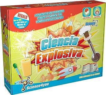 Science4you-481517 Ciència explosiva, joguet educatiu i científic (481517): Amazon.es: Juguetes y juegos