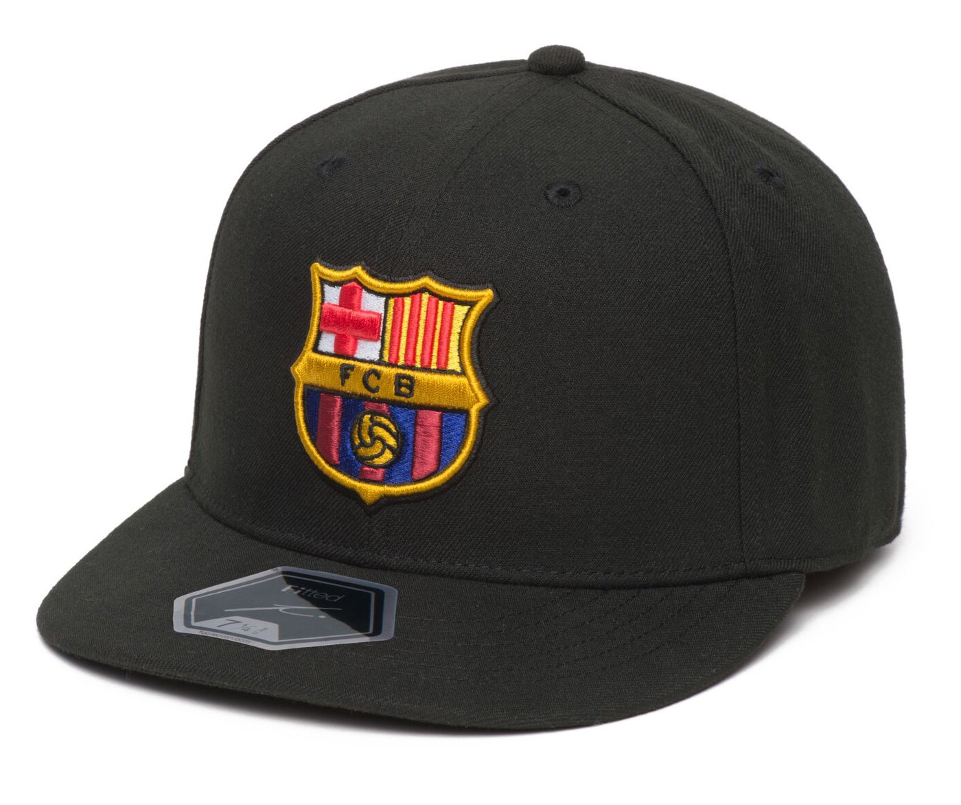 a6ffeb7704 Amazon.com   Fi Collection FC Barcelona Officially Licensed Fitted Dawn Cap  (7 1 2 (59.6cm))   Sports   Outdoors