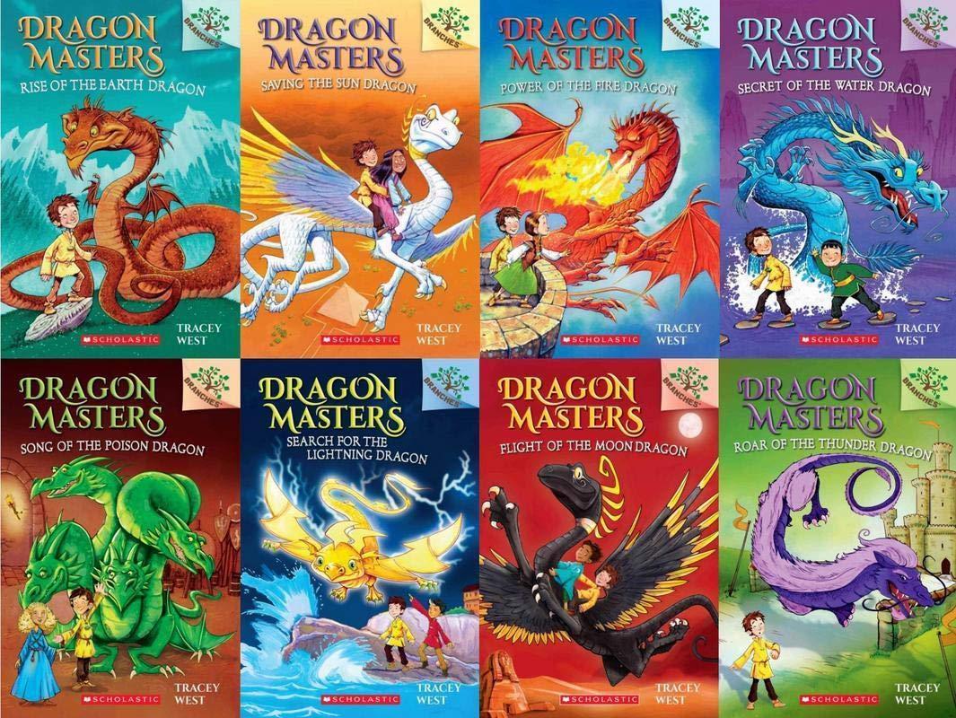Dragon Masters Series Set ( Books 1 - 8 ): Tracey West: Amazon.com: Books