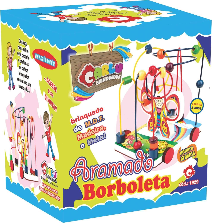 Carlu Brinquedos - Aramado Borboleta, 2+ Anos Multicolor, 1929