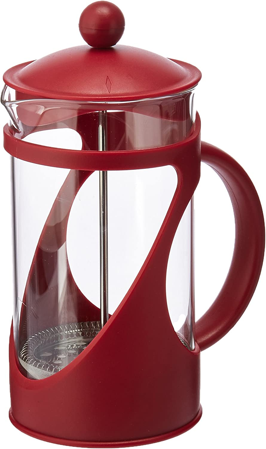 Primula TCRE-2908 Today Pierre Frecnh Coffee Press 8cup, 8 Cup, Red