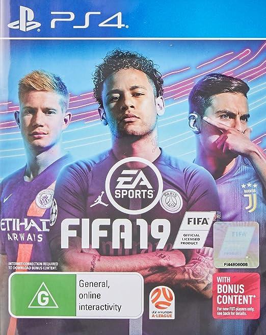 Fifa 19 Playstation 4 Ps4 Video Games
