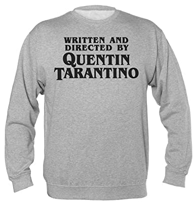 Finest Prints Written and Directed by Quentin Tarantino Sudadera Unisex: Amazon.es: Ropa y accesorios