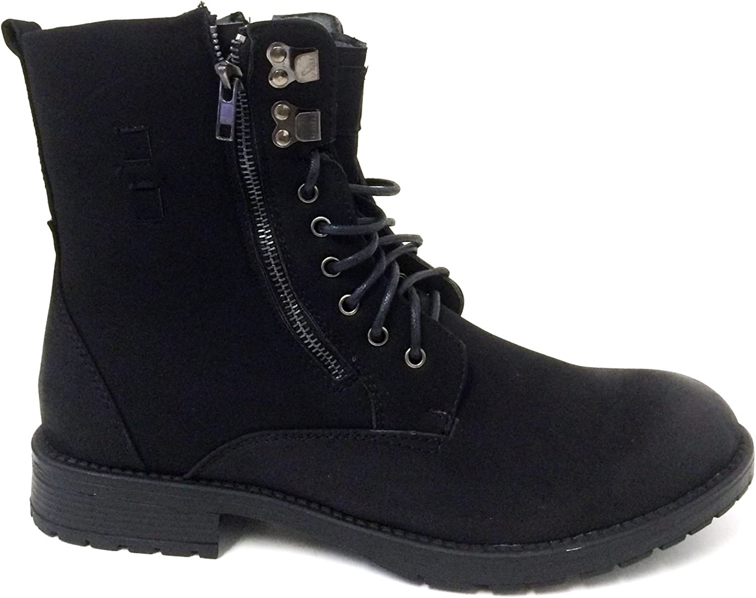 lace boots military style