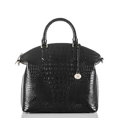 943ba4083bbe6 Amazon.com: Brahmin Large Duxbury Satchel, Black, One Size: Clothing