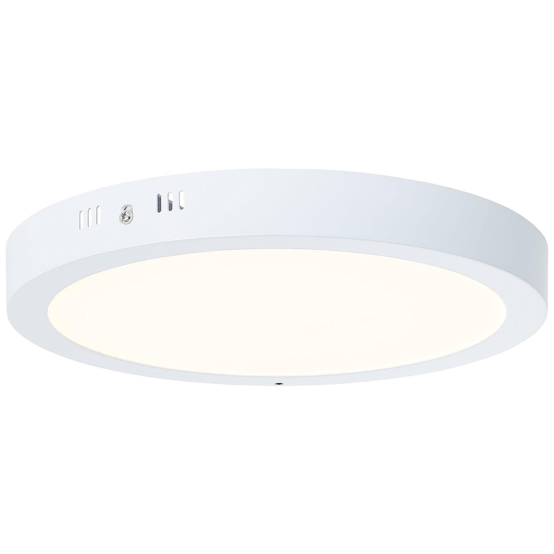 LED Aufbauleuchte, 1x 24W LED integriert, 1x 1910 Lumen, 2700-6500K, Metall Kunststoff, weiß