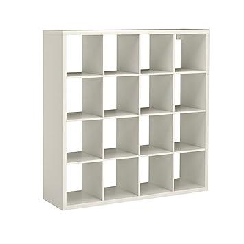 IKEA EXPEDIT KALLAX SHELVING UNIT BOOKCASE STORAGE HOME FURNITURE WHITE  (4X4 Large Square Unit)