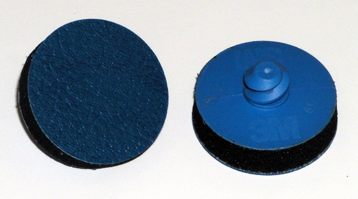 3M Finesse-it Roloc Sanding Pad 13442, PSA Attachment, 1-1/4'' Diameter X 0.31'' Thick (Pack of 10)