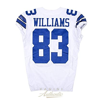 new products 4f9c5 42123 Terrance Williams Game Worn Dallas Cowboys Jersey From 9/16 ...