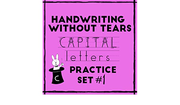 It's just a photo of Handwriting Without Tears Printable with regard to teaching