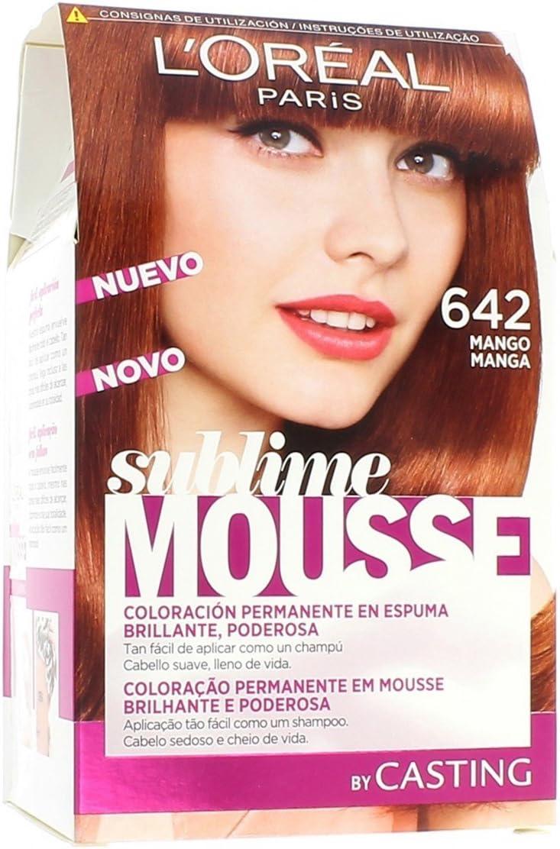Loreal Coloration Sublime Mousse - 642 Mango: Amazon.es: Belleza