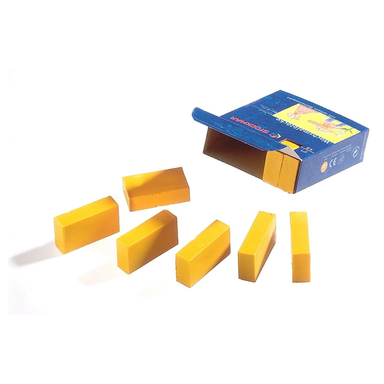 Stockmar Wachsmalbl/öcke 12 Bl/öcke Einzelfarben Orange