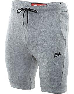 Nike Sportswear Tech Fleece Men s Training Shorts Grey Heather Black  805160-100 67d54b6a8