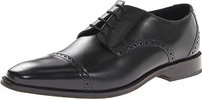 Florsheim Men's Castellano Cap Oxford,Black,7 ...