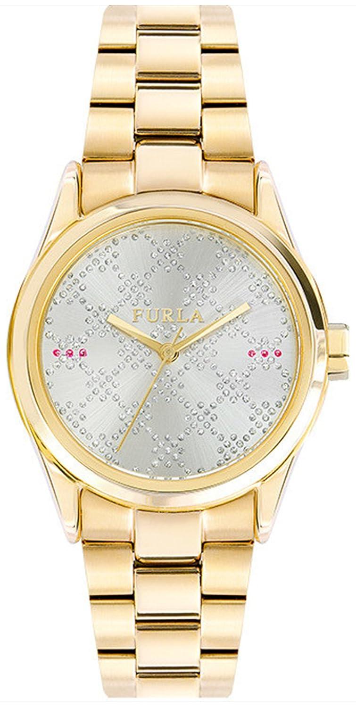 Reloj Analógico Con Para Mujer Brazalete Furla Eva De Cuarzo gymbfI7vY6