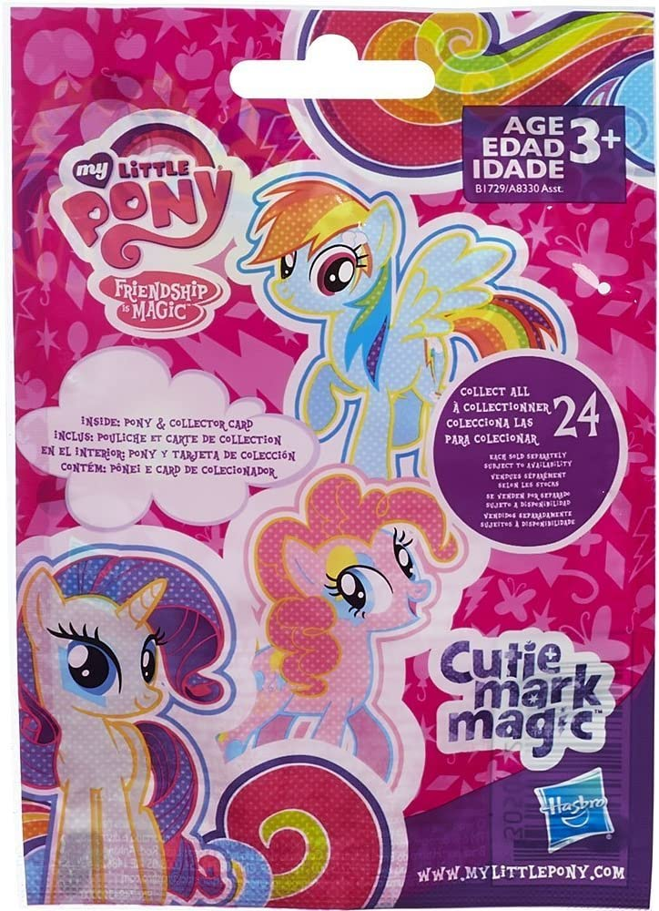 My Little Pony Friendship is Magic Wave 10 Rainbow Diamond, Wave 11 Breezie Butterfly and Wave 12 Cutie Mark Magic Surprise Blind Bag Mystery Pack (1 ...