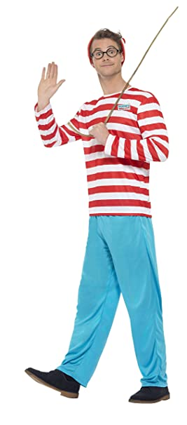 1725968067a Smiffys Men s Where s Wally  Costume
