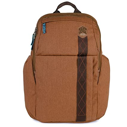 "STM Kings Backpack for Laptop & Tablet Up to 15"" - Desert Brown"