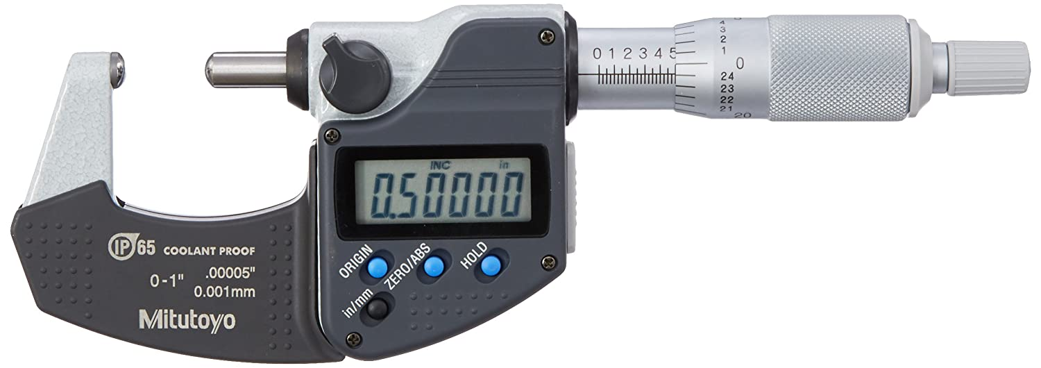Micrometer SPH FACE S-S0-1 .00005//0.001MM IP6