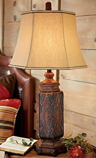 Table lamp table lamps southwestern style amazon cordova southwestern table lamp rustic lighting aloadofball Images