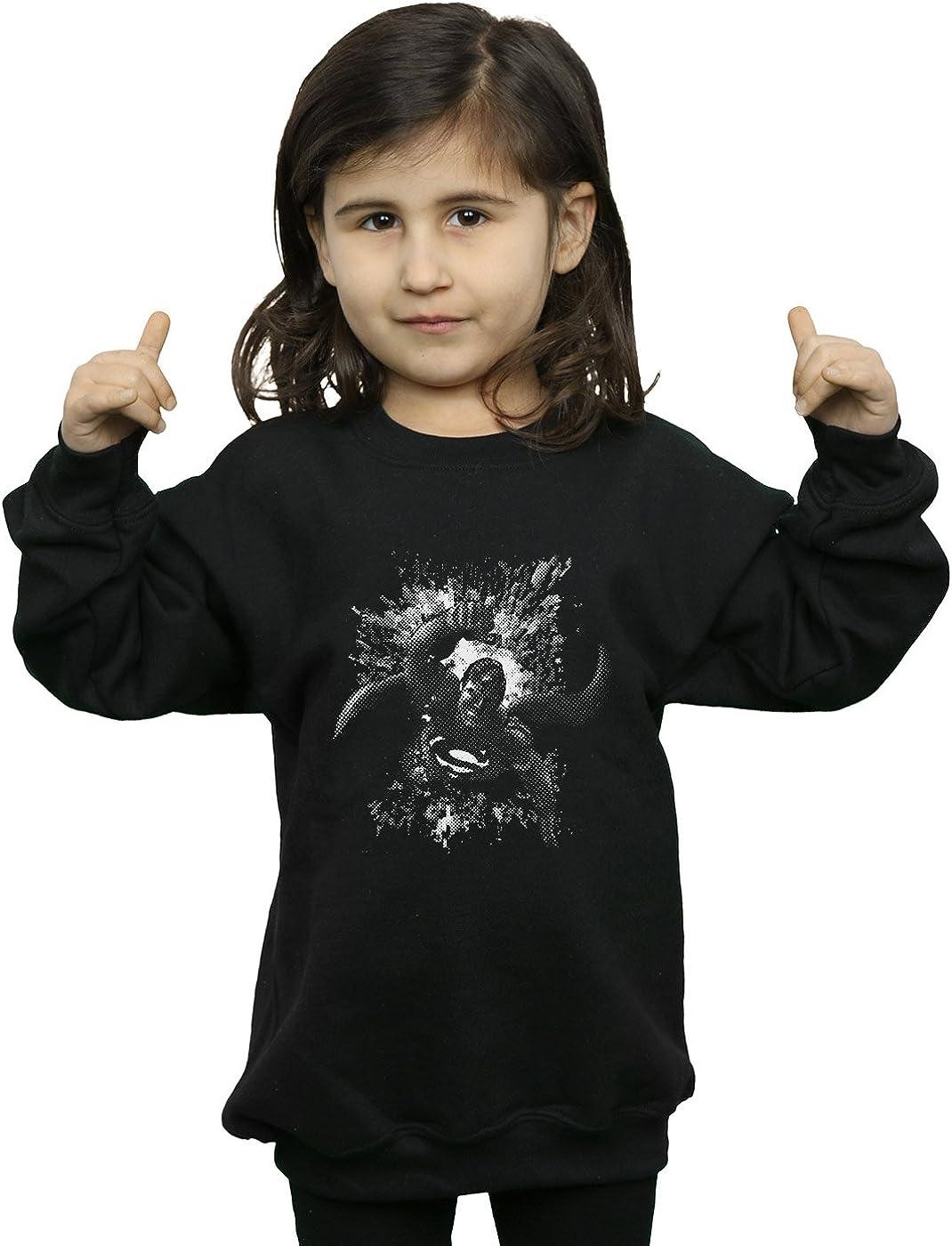 DC Comics Girls Superman Spot Sweatshirt