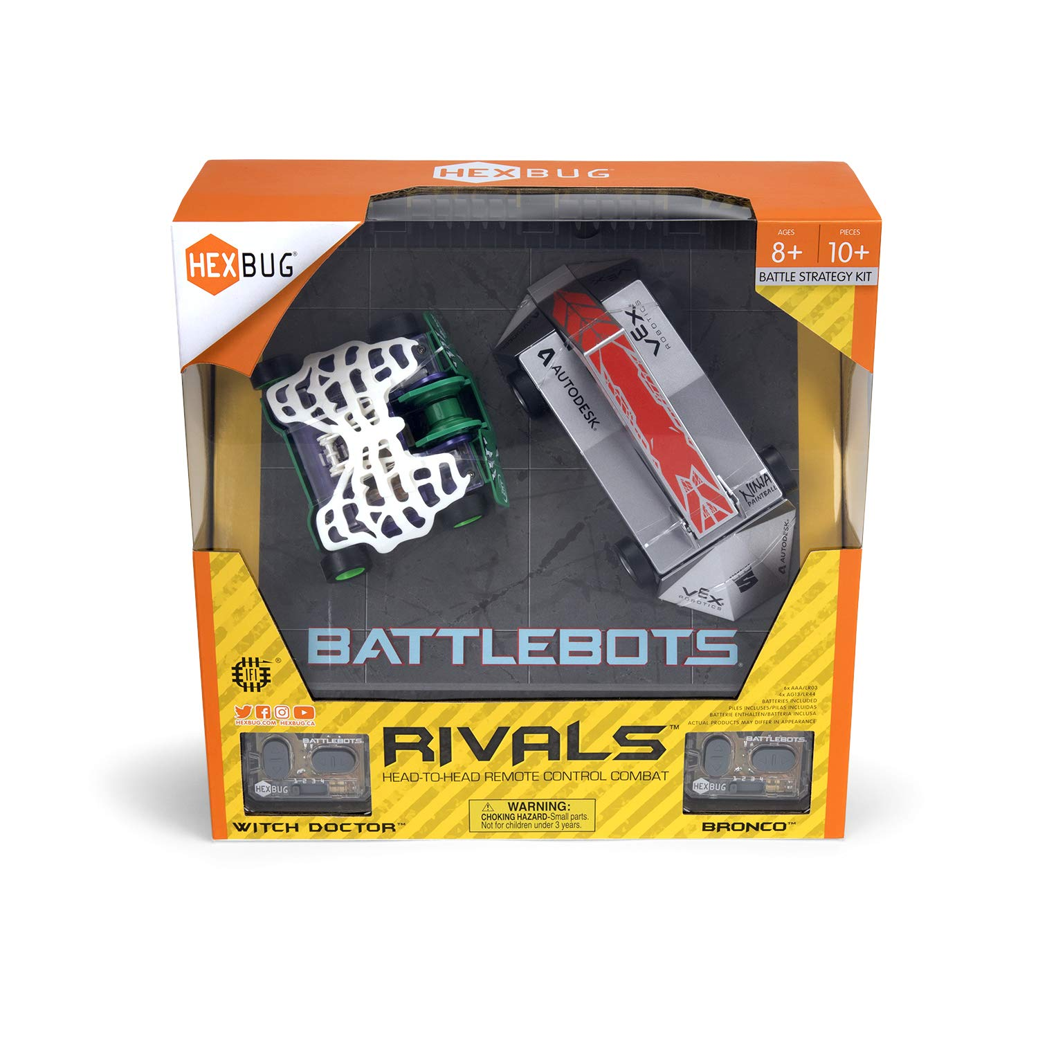 HEXBUG BattleBots Rivals (Bronco and Witch Doctor) by HEXBUG (Image #3)