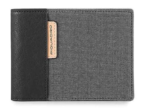 85c4705b7e7829 Piquadro Blade portafoglio uomo con porta documenti, portamonete e porta  carte di credito - PU1392BL