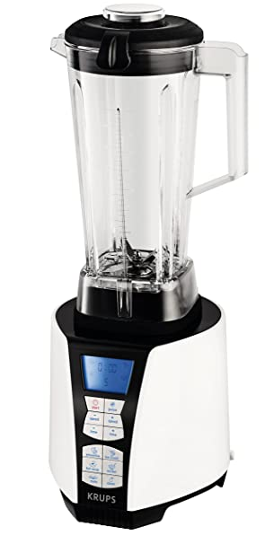 Krups High Speed Perfect Mix 9000 - Batidora (Batidora de varillas, Negro, Acero inoxidable, Blanco, Ice crushing, Mezcla, Y, 30000 RPM, 2 L): Amazon.es: ...
