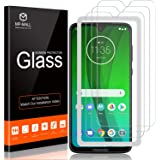MP-MALL 3-Pack Screen Protector Compatible for Motorola Moto G7, Moto G7 Plus Tempered Glass Easy Installation Alignment Fram