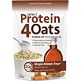 PEScience Select Protein 4 Oats, Maple and Brown Sugar, 12 Serving, Premium Whey and Casein Blend
