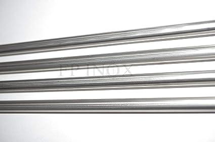 Tubo acero inoxidable (Juego de 4) curvada soldado 10 mm x 1 ...