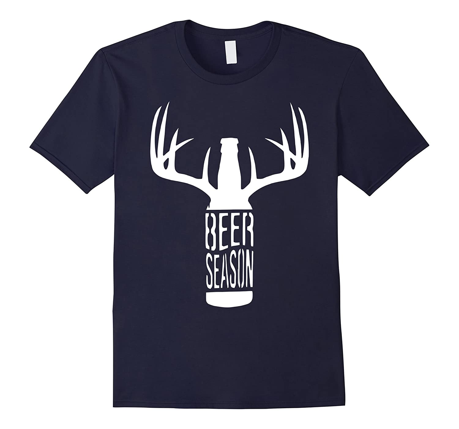 Beer Season Merry Christmas T Shirt-Art