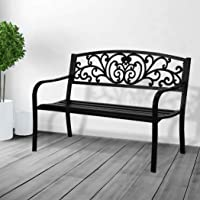 Levede Garden Bench Seat Outdoor Furniture Patio Cast Iron Benches Lounge Chair