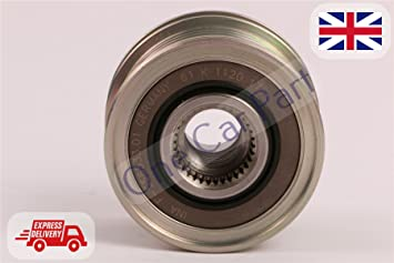 INA 535017810 embrague Polea de alternador para Berlingo, C3 Picasso, C4, C5, DS3: Amazon.es: Coche y moto