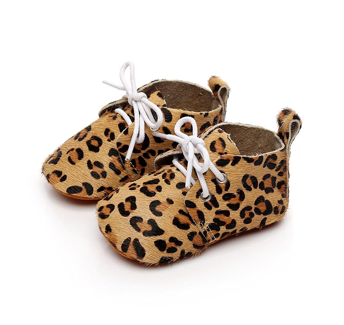 Amazon.com | HONGTEYA Boys Girls Leather Baby Moccasins - Camouflage lace up Toddler Infant Baby Shoes Sneakers | Shoes