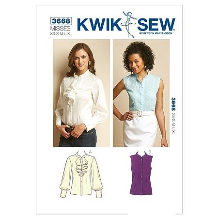 KWIK-SEW PATTERNS Kwik Sew Mustern k3668 Größe XS – klein – mittel ...