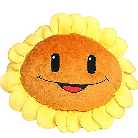E.a market Plants Vs Zombies 2 Plush Toys Sunflower pillow