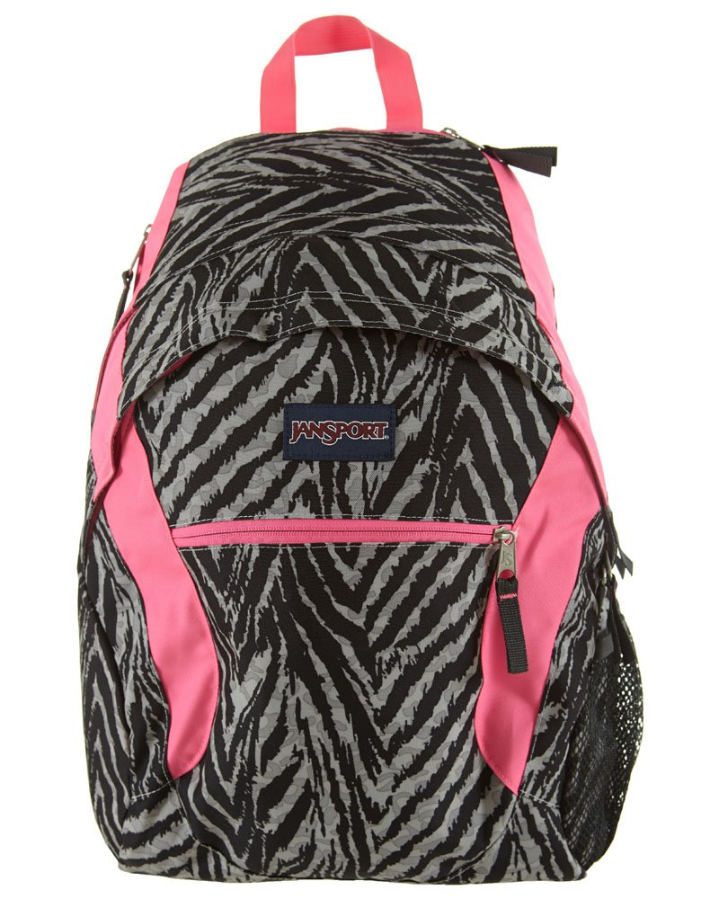 59d60a4f342311 Amazon.com: JanSport Wasabi Backpack - 1950cu in Grey Tar Wild At Heart,  One Size: Sports & Outdoors