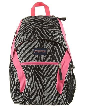 Amazon.com : JanSport Wasabi Backpack - 1950cu in Grey Tar Wild At ...