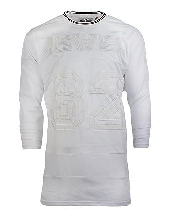 NEW Men Jewel House BIG U0026 TALL Embroidered Stitch White Long Sleeve Men  Sizes (2XL