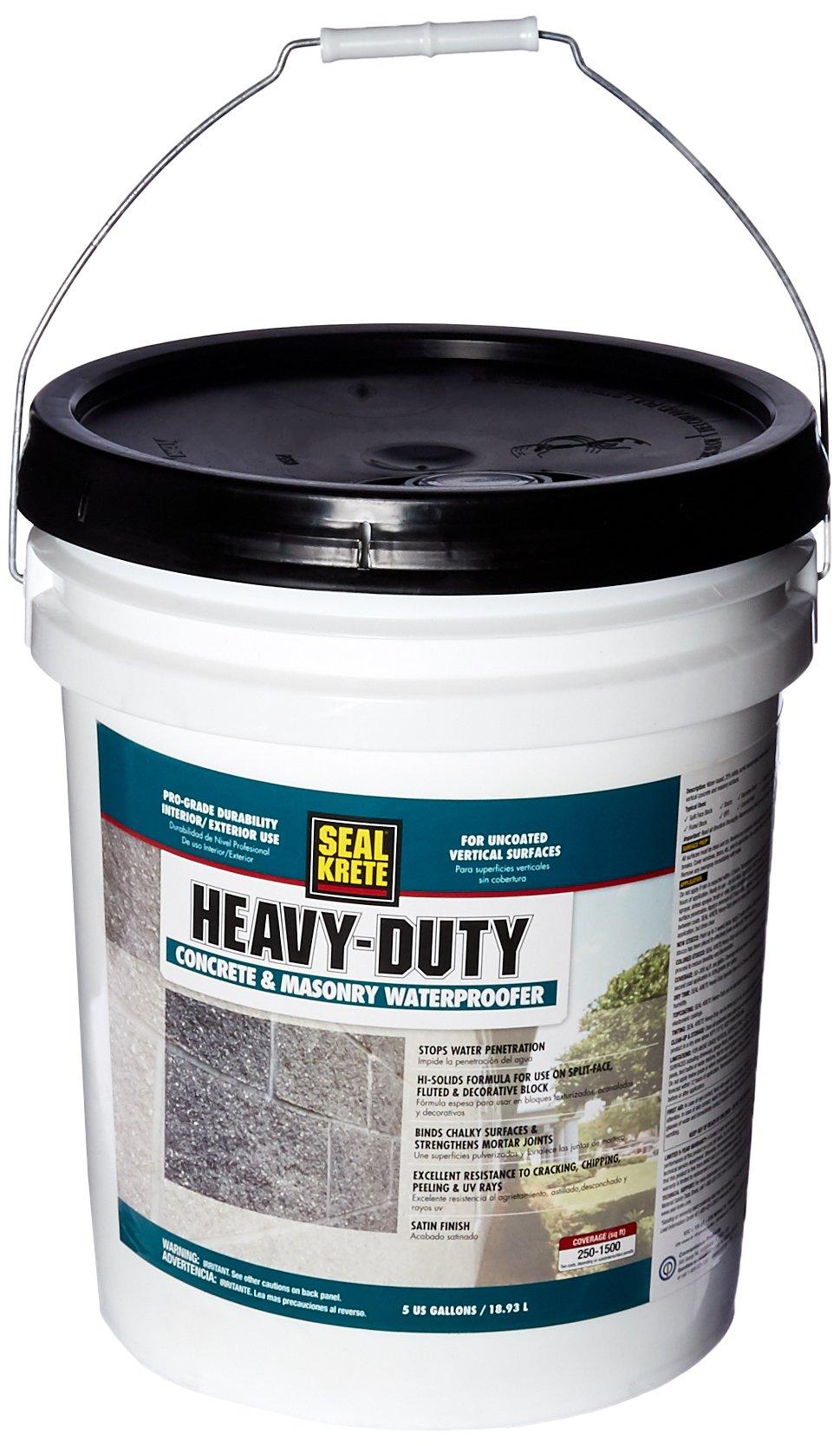 Seal-Krete 700005 5 gal. Heavy Duty Water proofer Hi Solids
