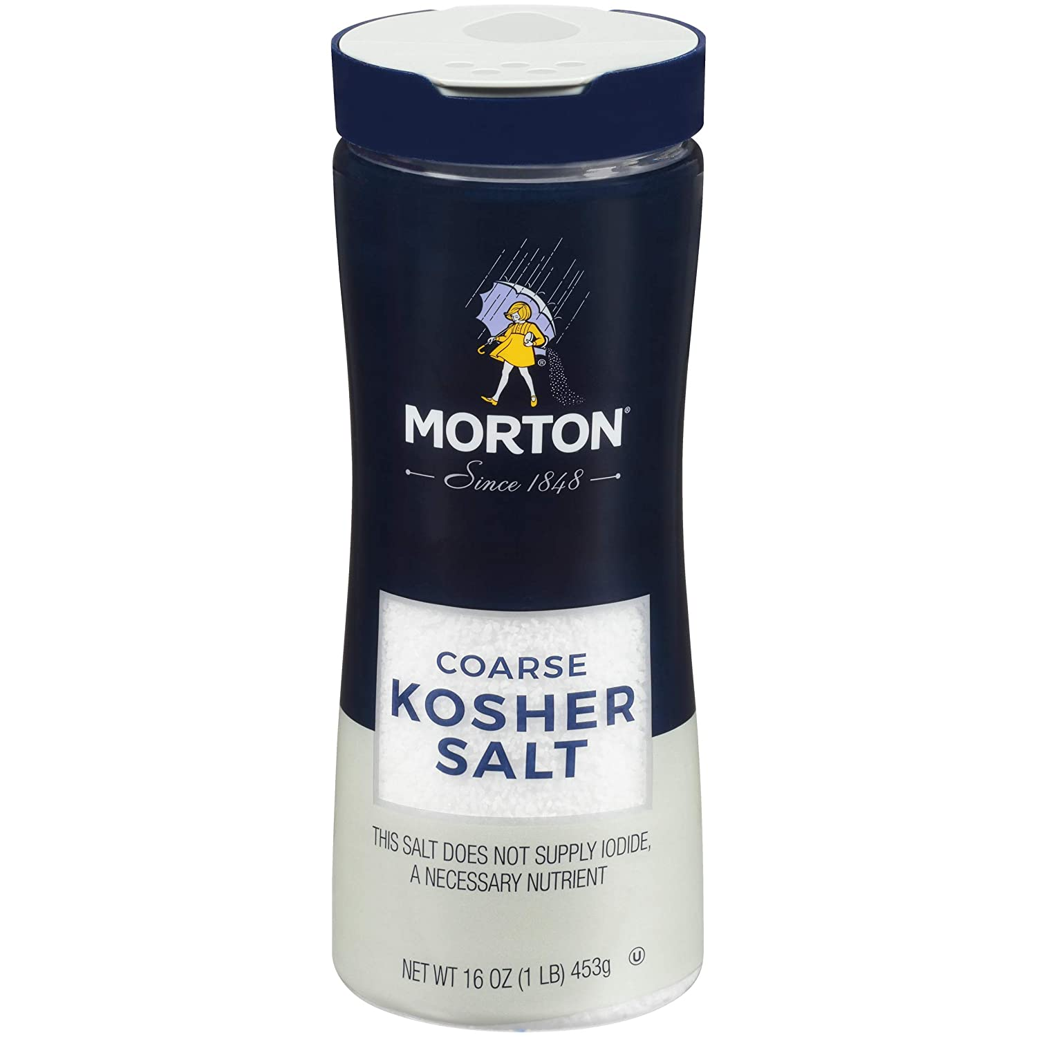 Morton Kosher Salt, Coarse, 16 Ounce (Pack of 12) : Grocery & Gourmet Food