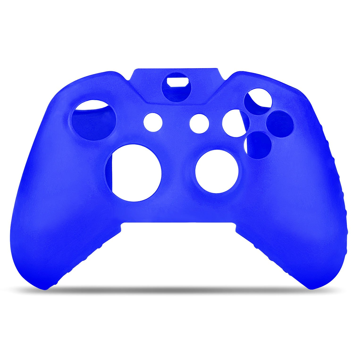 TNP Xbox One Controller Case Navy Blue Xbox One - Soft Silicone Gel Rubber Grip Case Protective Cover Skin for Xbox One Wireless Game Gaming Gamepad Controllers