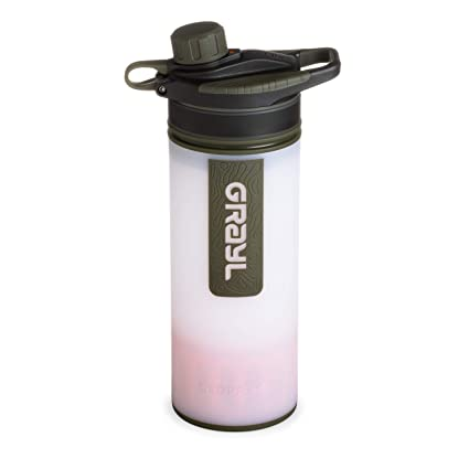 fd137109e1 Amazon.com : GRAYL Geopress 24 oz Water Purifier for Global Travel,  Backpacking, Hiking, and Survival : Sports & Outdoors
