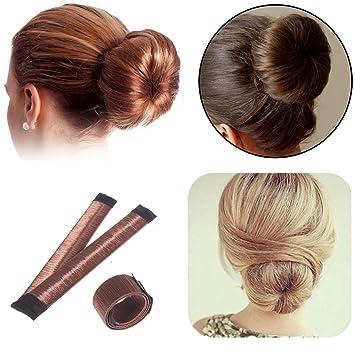 Amazon Com 1 Pack Hair Donut Bun Maker Foam French Twist Hairstyle